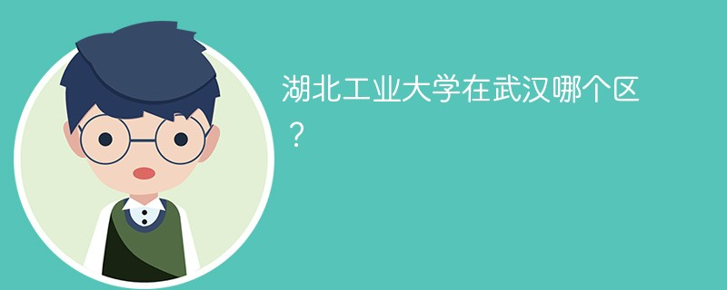 湖北工业大学在武汉哪个区?